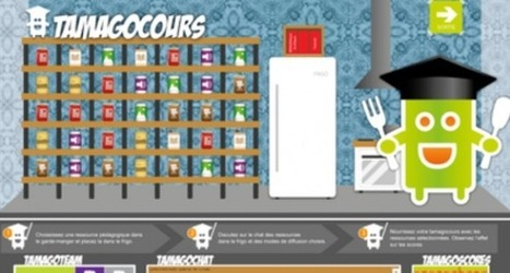 Le Tamagocours, un serious game pour les futurs enseignants - L'Etudiant Educpros | REL 2014 de CD | Scoop.it