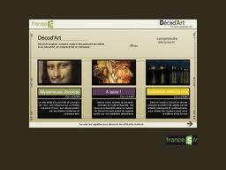 Décod'Art, magazine en ligne pour expliquer l'art.   Remue-méninges FLE   Scoop.it