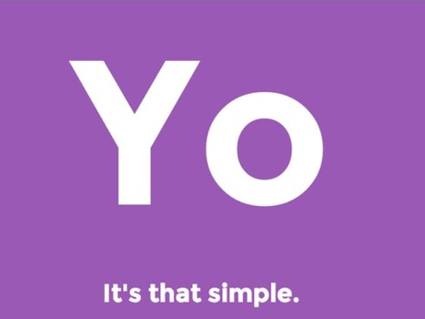 Yo: App that does nothing but say 'Yo' raises $1M, is not a joke | Archivance - Miscellanées | Scoop.it