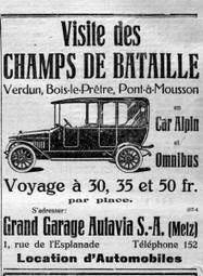 Mémoire du tourisme de mémoire - Le blog de Miss Média   commémoration 1914   Scoop.it