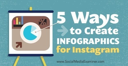 5 Ways to Create Infographics for Instagram | open education | Scoop.it