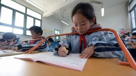 Las escuelas chinas adoptan una barra en los pupitres para prevenir la miopía | Salud Visual 2.0 | Scoop.it