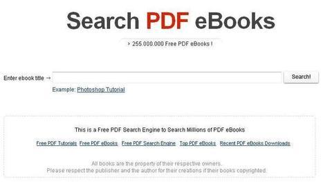 Un moteur de recherche d'Ebooks au format PDF | Ballajack | Veille en médiathèque | Scoop.it