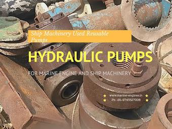 Hydrulic Pumps | Hagglunds / Mitsubishi / IHI | Marine Engines Motors and generators | Scoop.it