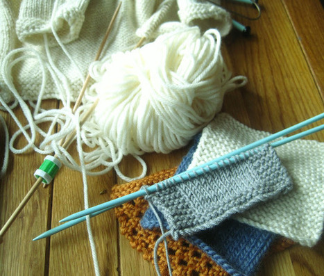 The Barefoot Crofter: Yarn Along: Squaring up to dementia | Fiber Arts | Scoop.it