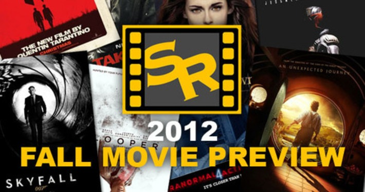 Screen Rant's 2012 Fall Movie Preview | Machinimania | Scoop.it