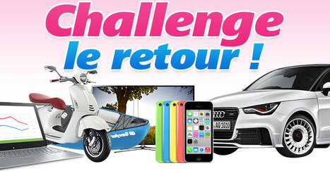Challenge : le retour ! | CarpeDiem News | Scoop.it