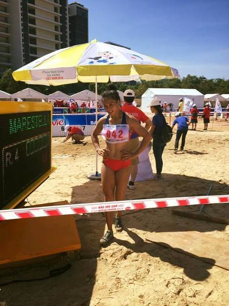 Asian Beach Games Day 1-2 Report Athletics Marestella Sunang Takes Bronze - Pinoyathletics.info | Philippines Track and Field | Scoop.it
