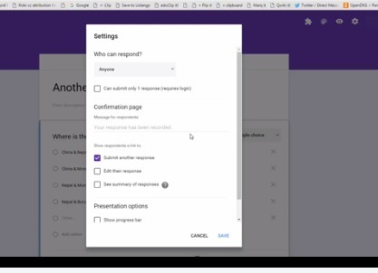 Free Technology for Teachers: How to Change Access Settings in the New Version of Google Forms | Data Management for SEL | Scoop.it