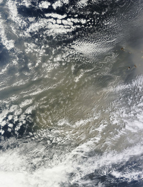 Saharan dust over the Atlantic Ocean | Remote Sensing News | Scoop.it