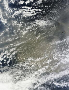 Saharan dust over the Atlantic Ocean | Remote Sensing News | Scoop.it