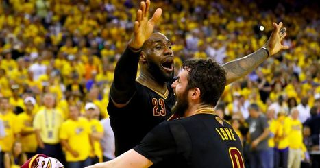 Living legend: LeBron James delivers Cleveland first championship, ascends in NBA history | CLOVER ENTERPRISES ''THE ENTERTAINMENT OF CHOICE'' | Scoop.it