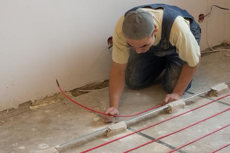 Comment installer un chauffage au sol - Le Wiki du bricoleur | Le coin des bricoleurs - Votre communauté | La gazette des bricoleurs | Scoop.it
