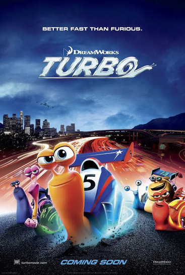 "Nuevo Póster de ""Turbo"" lo próximo de DreamWorks Animation ... 