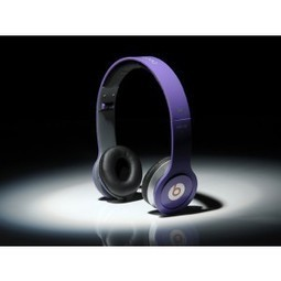 Monster Beats by Dr. Dre Solo HD Headphones Purple MB180 | Solo Beats by Dre Purple | Scoop.it