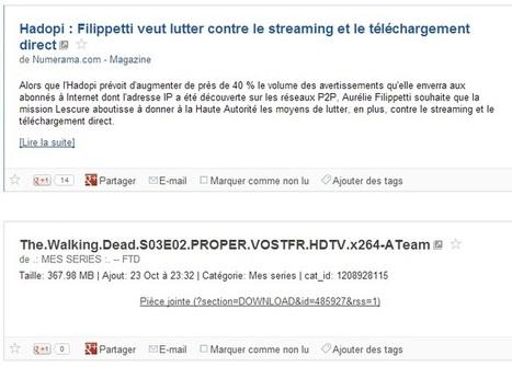Hadopi : Filippetti veut lutter contre le streaming et le téléchargement direct   Veille de Black Eco   Scoop.it