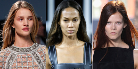 No Makeup? No Problem, Says Fashion Week's Beauty Forecast (PHOTOS) - Huffington Post | High Fashion Makeup | Scoop.it