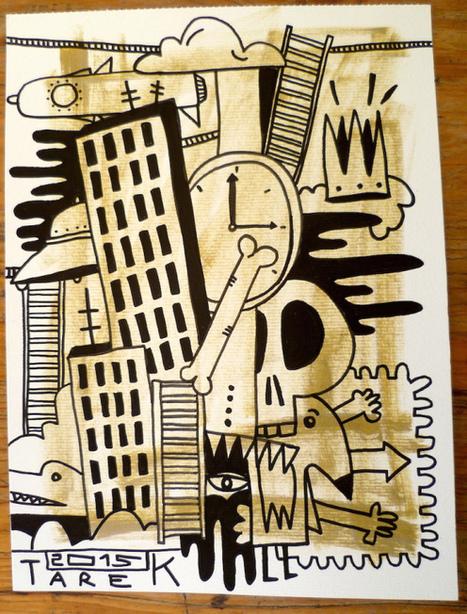 Dessin de Tarek   Bande dessinée et illustrations   Scoop.it