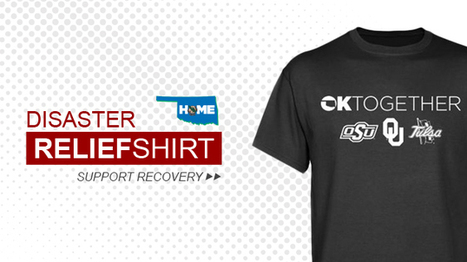 2013 Oklahoma Disaster Relief Shirts Are Available Now   Sooner4OU   Scoop.it
