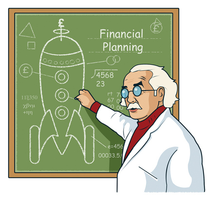 Financial planning isn't rocket science | Customers and financial planning? | Scoop.it