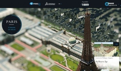 París y sus 5.000 años de historia, en 3D por Internet | History 2[+or less 3].0 | Scoop.it