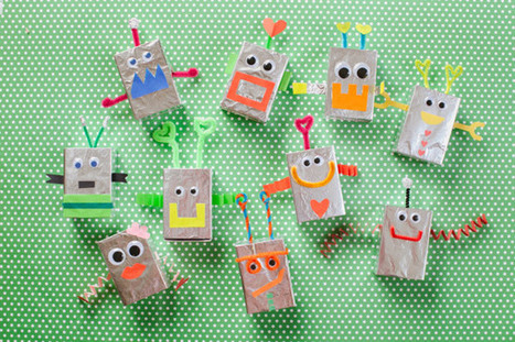 Robot Valentine Box ~ Be Different...Act Normal | Trabalhos Manuais no Jardim de Infância | Scoop.it