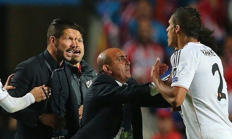Diego Simeone and Xabi Alonso charged by UEFA after Champions League final - Daily Mail | UEFA Champions League | Scoop.it
