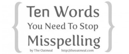 Ten Words You Need to Stop Misspelling | Teaching a Modern Business Communication Course | Scoop.it