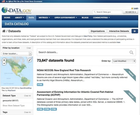 U.S. government's data portal Data.gov relaunched on CKAN | ckan - The open source data portal software | Open Data Impact | Scoop.it