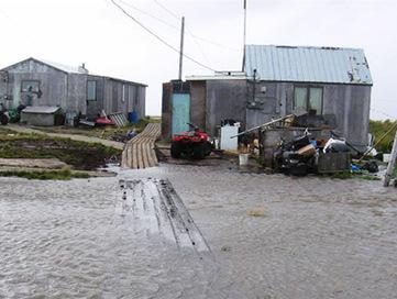 Relocation of Alaska's Sinking Newtok Village Halted | Mother Jones | Alaska Sinking? | Scoop.it
