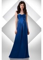 Sheath Column Sweetheart Floor Length Blue Bridesmaid Dress Bbbj0011 for $345 | 2014 landybridal wedding party dresses | Scoop.it