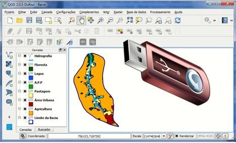 Faça o Download da Versão Portátil do QGIS 2.0 Dufour | Anderson Medeiros | Materiais didáticos: QGIS | Scoop.it
