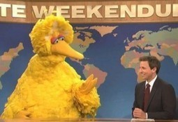 Big Bird Responds To Mitt Romney On SNL | Littlebytesnews Current Events | Scoop.it