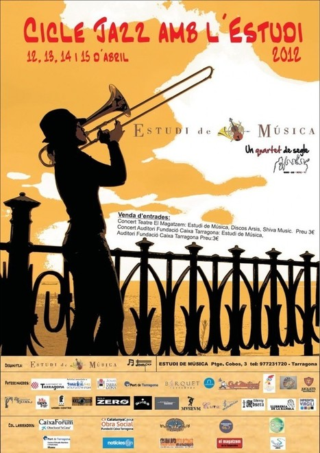 Jazz amb l'Estudi | Tarragona 2012, Capital de la Cultura Catalana | Actualitat Jazz | Scoop.it