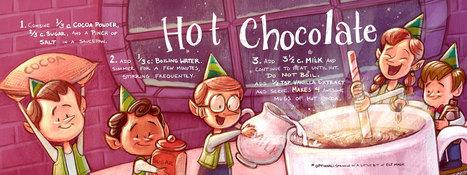 Hot Chocolate by Dani Jones | Desserts | Scoop.it