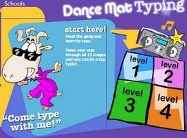 Dance Mat A Great Typing App   Keyboarding for Students   Scoop.it