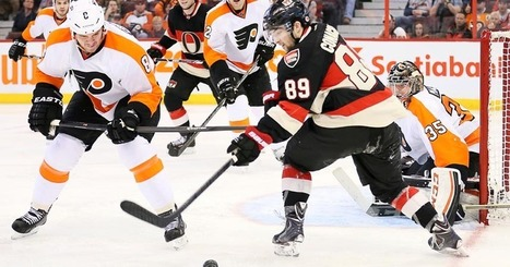 Sens slumps end in 5-4 win over Philadelphia - Senators Extra | hockey fight | Scoop.it