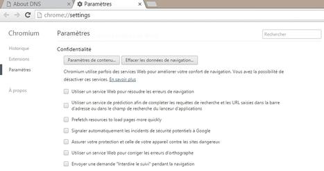 Le prefetching DNS et le pillage de vos données personnelles | Informatique | Scoop.it