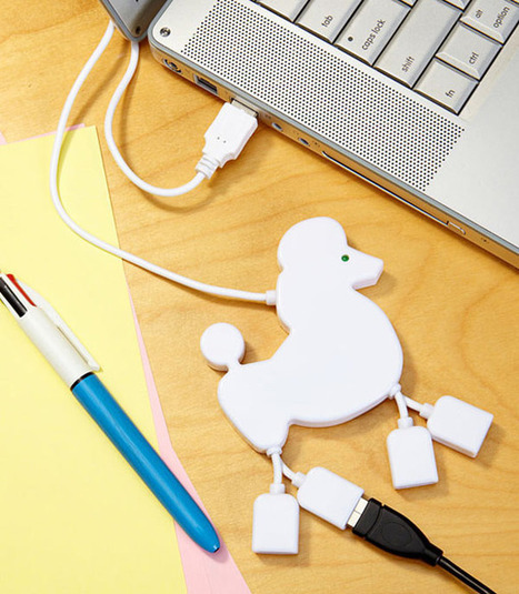 Poodle USB Hub: Cute and Portable   All Geeks   Scoop.it