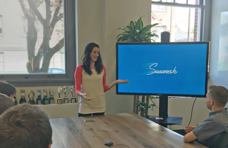 Swoosh - deliver presentations with the swoosh of your hand | Digital Presentations in Education | Scoop.it