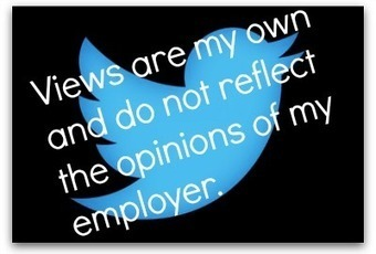 Why you should drop your Twitter disclaimer | Communication Advisory | Scoop.it