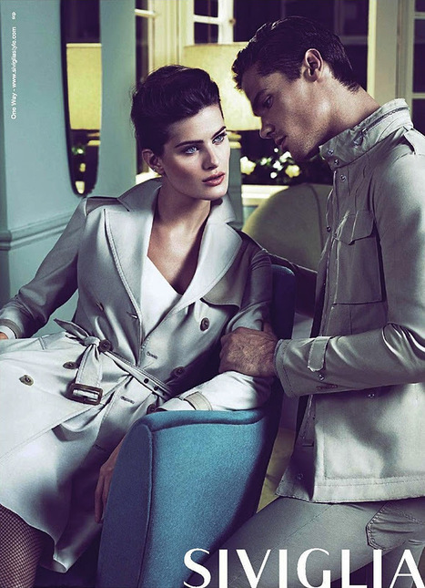 Isabeli Fontana for Siviglia spring/summer 2012 ad campaign | SocialMediaDesign | Scoop.it