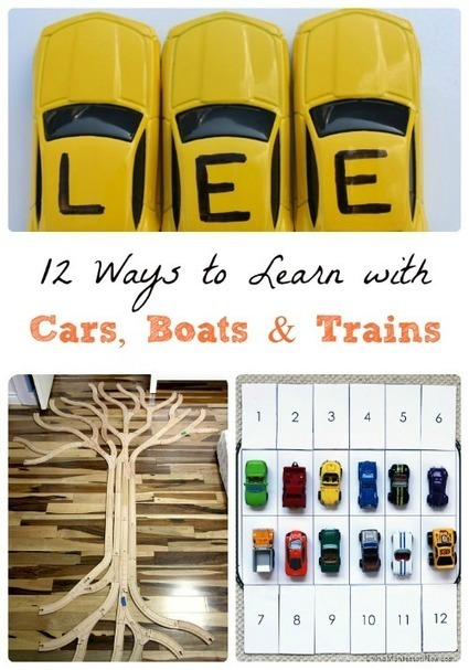 12 Learning Activities using Cars, Boats & Trains | 0-8 Education | Scoop.it