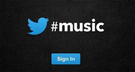 Twitter music app to launch this weekend, Twitter music web page is up | Cloud Central | Scoop.it