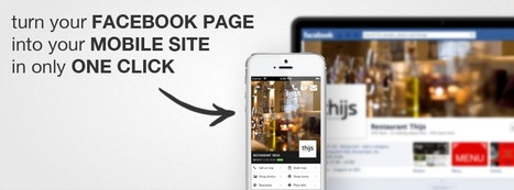 Turn your Facebook Page into a Mobile Site | mobile website | Scoop.it