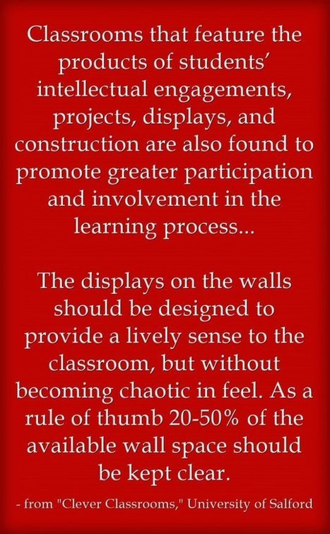 Quote Of The Day: The Importance Of Displaying Student Work | educacion-y-ntic | Scoop.it