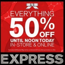 Your sophisticated, world class wardrobe from Express now comes with $ 30 off! | The deals hub | Scoop.it