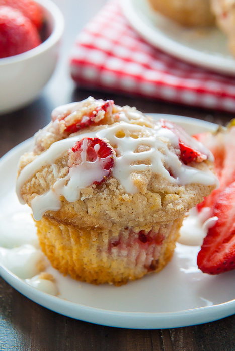 Strawberry Crumb Muffins | Passion for Cooking | Scoop.it