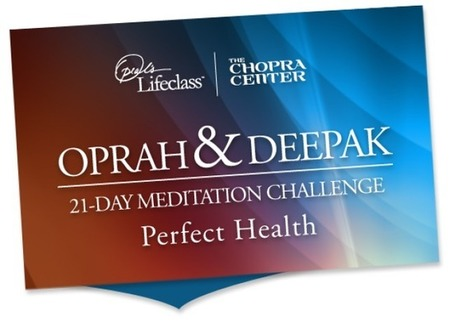 Oprah and Deepak 21-Day Meditation Challenge | Natural Beauty and Skincare | Scoop.it