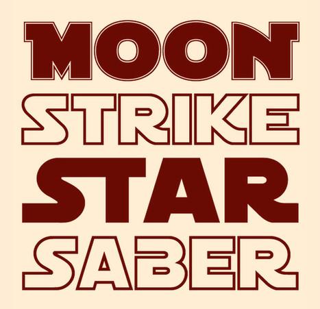 Tipografías retro al estilo Star Wars | Mundo diseño | Scoop.it